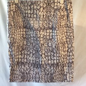 Adrienne Vittadini Studio Print Skirt Size 6